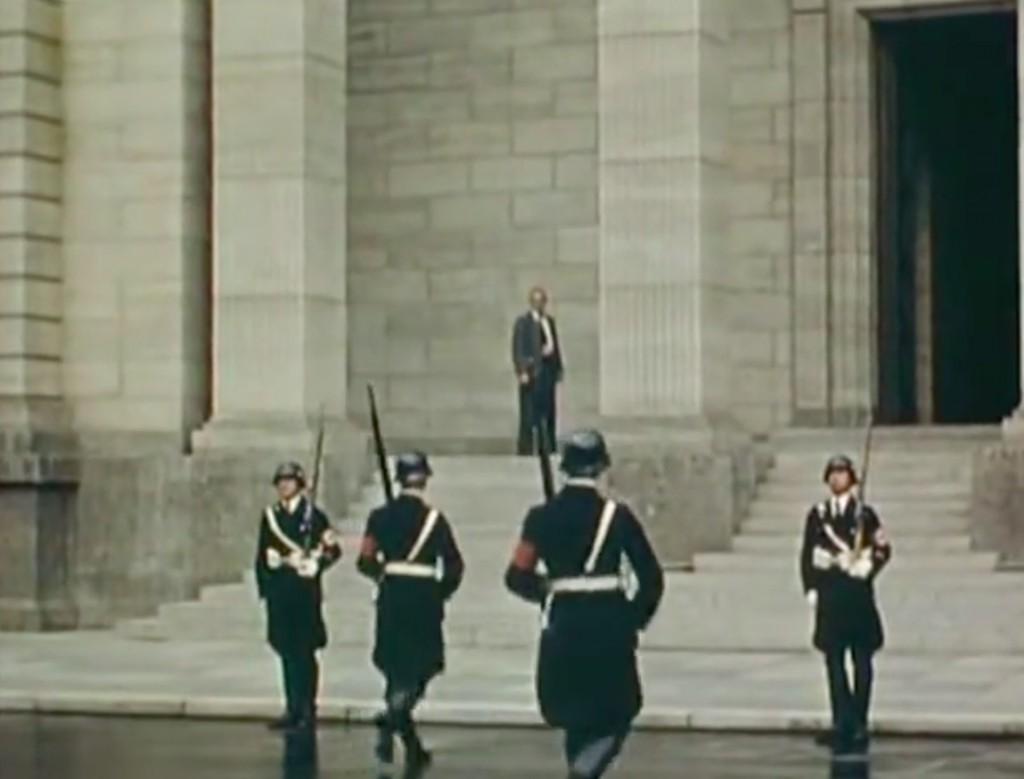 SS-mańska warta przy Nowej Kancelarii III Rzeszy