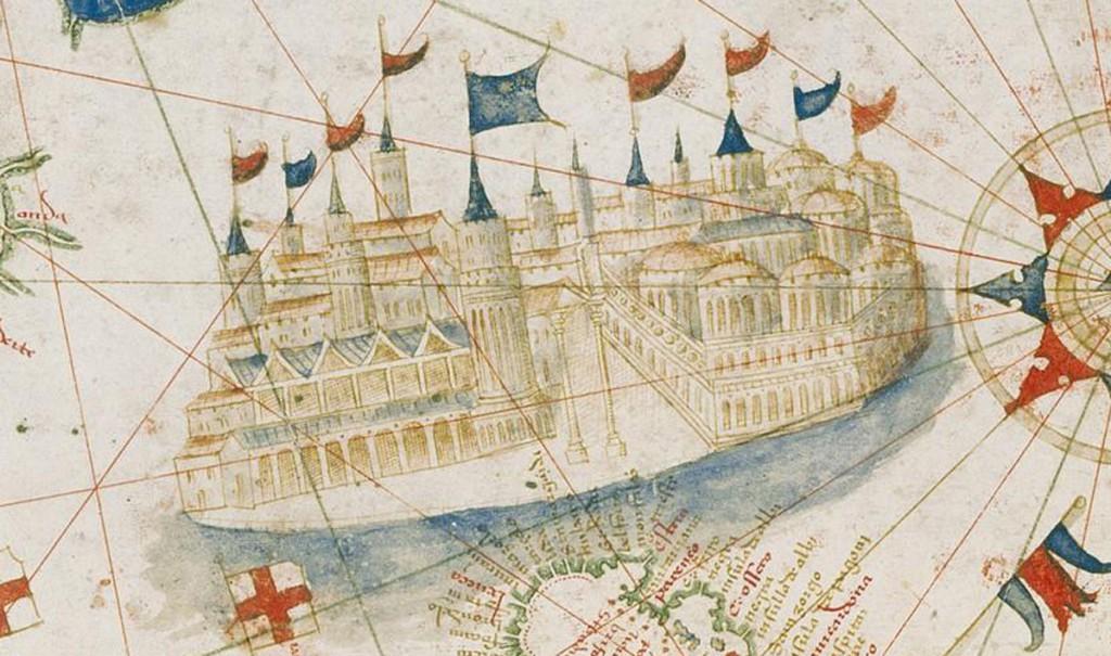 Wenecja - Portugalska mapa świata z 1502 roku