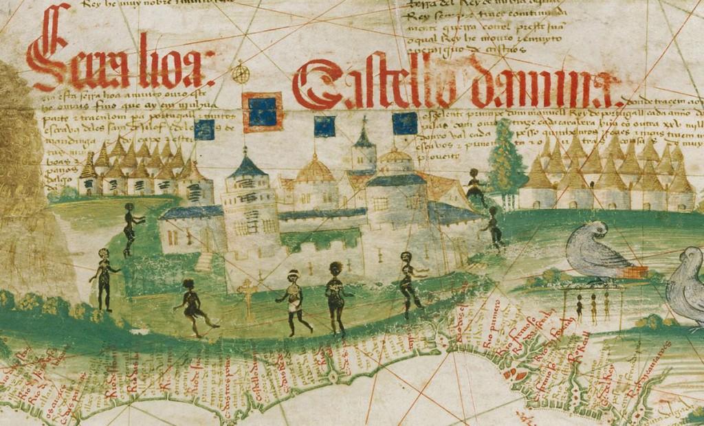 Portugalski Zamek Świętego Jerzego w Elmina