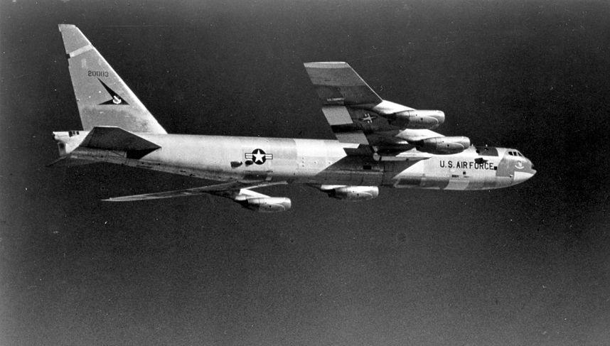 Amerykański bombowiec strategiczny Boeing B-52 Stratofortress