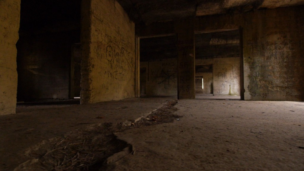 Wnętrze Kasyna na Osówce - Narodziny Legendy Riese