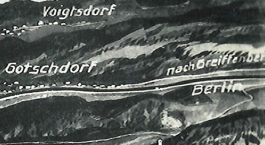 Kierunek na Berlin przez Gryfów Śląski (Greiffenberg) - Linia wybudowana w latach 1865-1867