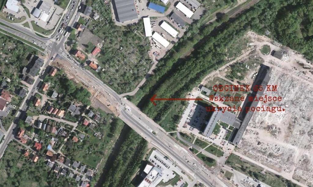 Mapa satelitarna (ortofotomapa) - Źródło: geoportal.gov.pl