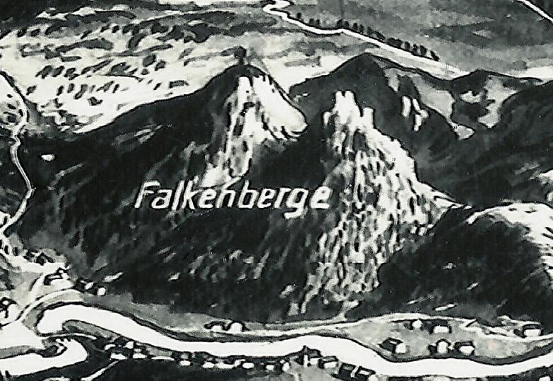 Sokolik i Krzyżna - Góry Sokole - Falkenberge