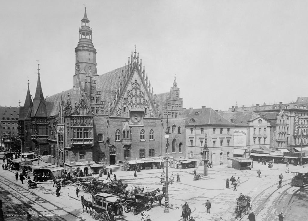 Wrocław na początku XX wieku