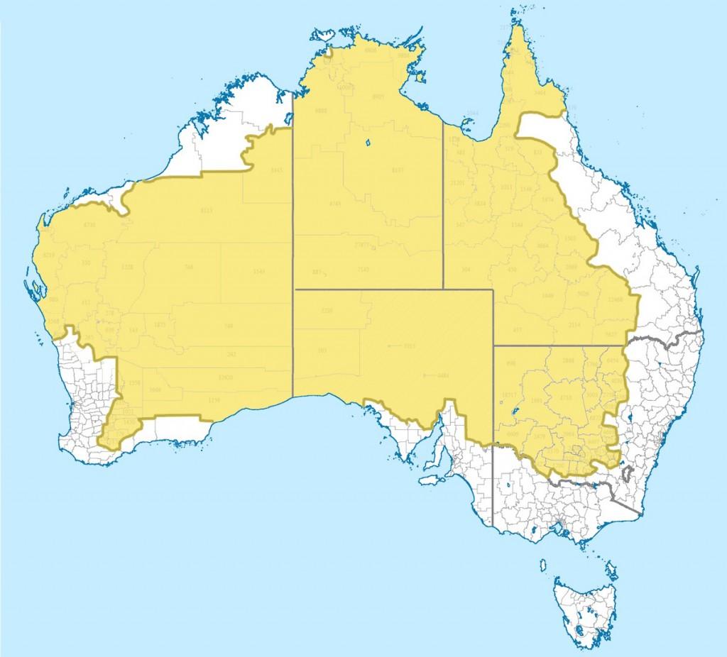 Nierównomierne Zaludnienie Australii