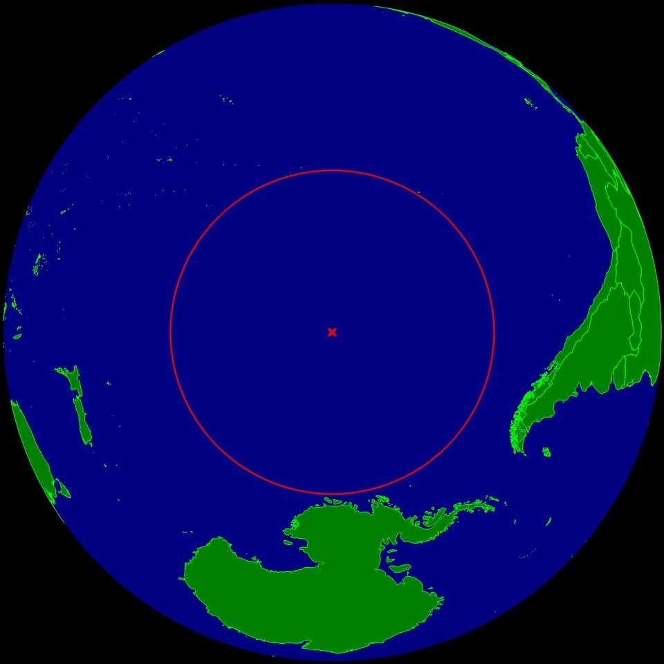 Punkt Nemo - 10 ciekawych i zaskakujących map