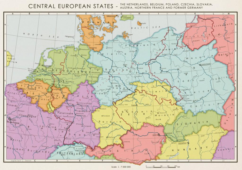Alternatywny plan podziału Niemiec po II Wojnie Światowej