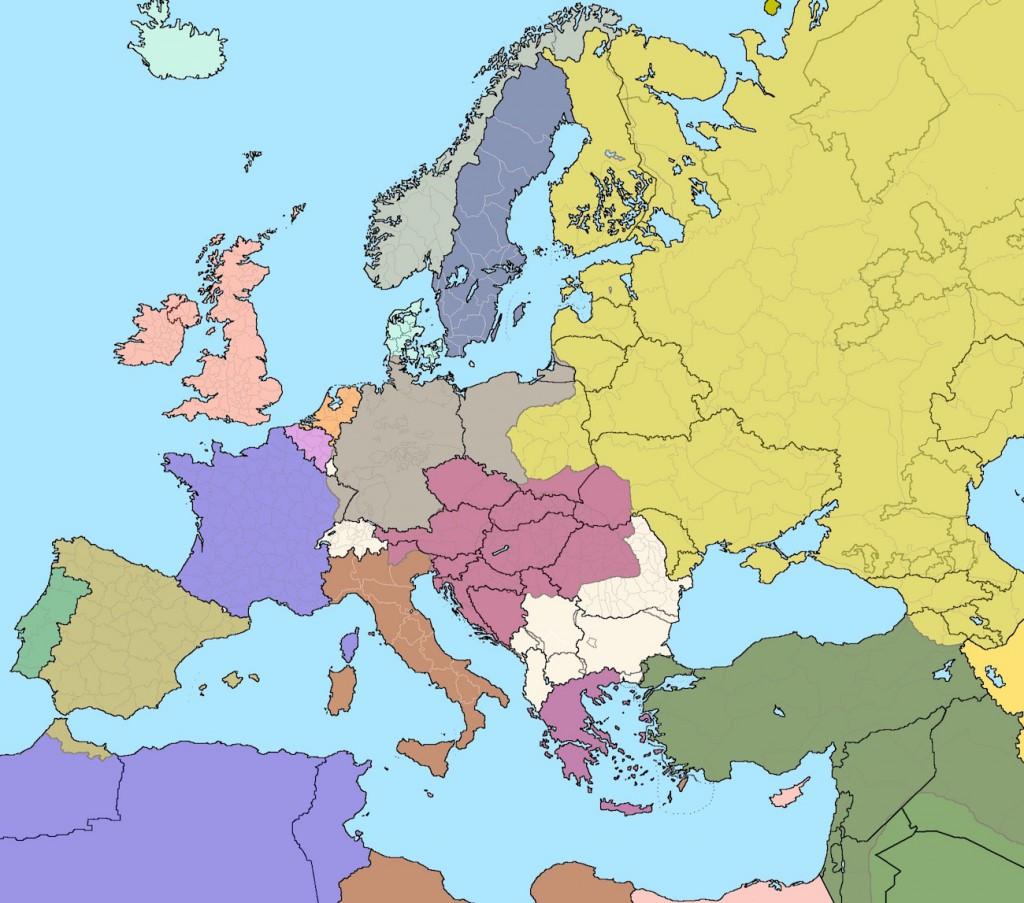 Europa i 100 lat różnicy - 10 Ciekawych i Zaskakujących Map