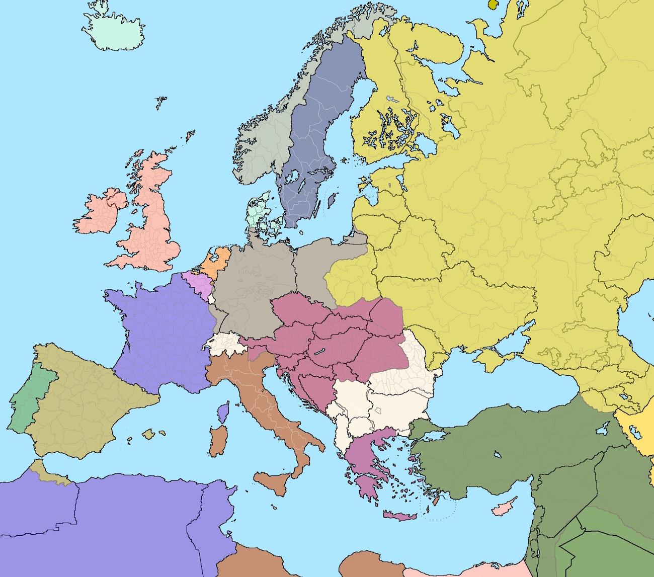 Europa I Swiat W Ii Polowie Xix Wieku Lekcja Powtorzeniowa