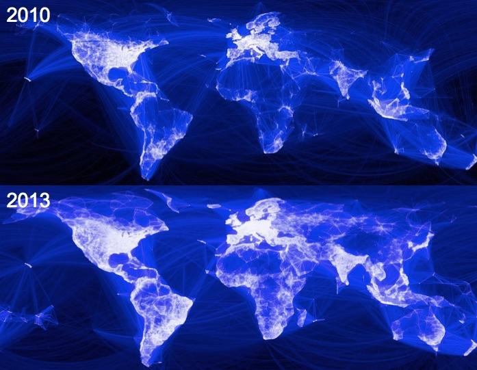 Facebook łączy świat i ludzi - Źródło: MIT Sloan