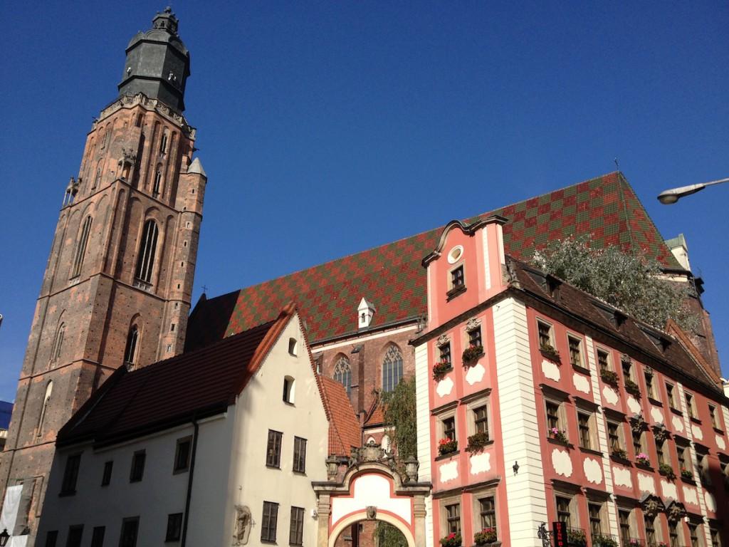 Kościół Garnizonowy - Punkty Widokowe we Wrocławiu