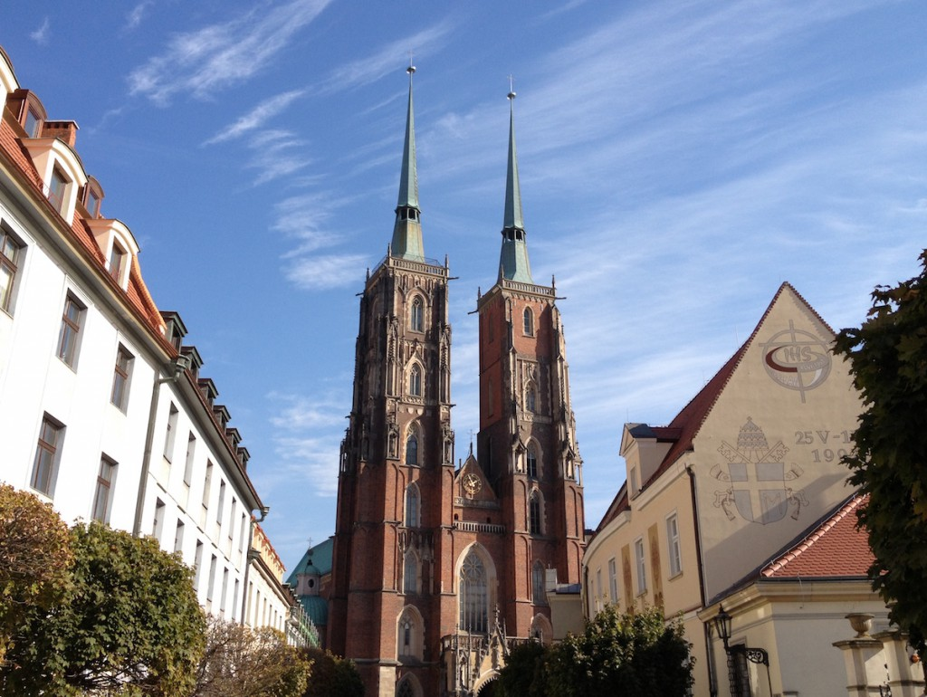 Katedra św. Jana Chrzciciela - Punkty widokowe we Wrocławiu
