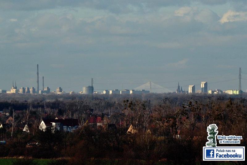Widok na Wrocław z wieży w Kotowicach - Foto: Adama Polita Źródło: fb.com/wiezawkotowicach