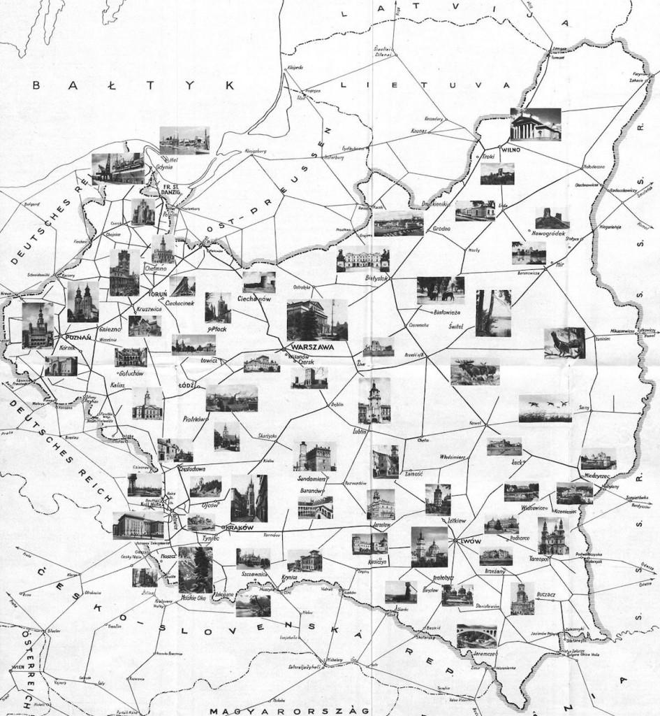 Mapa Turystyczna Przedwojennej Polski - 10 Fascynujących Historycznych Map Polski