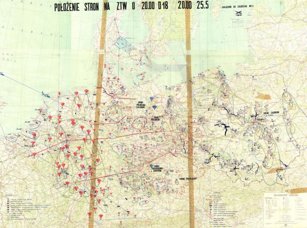 Plan udziału Polski w III wojnie światowej - 10 Fascynujących Historycznych Map Polski