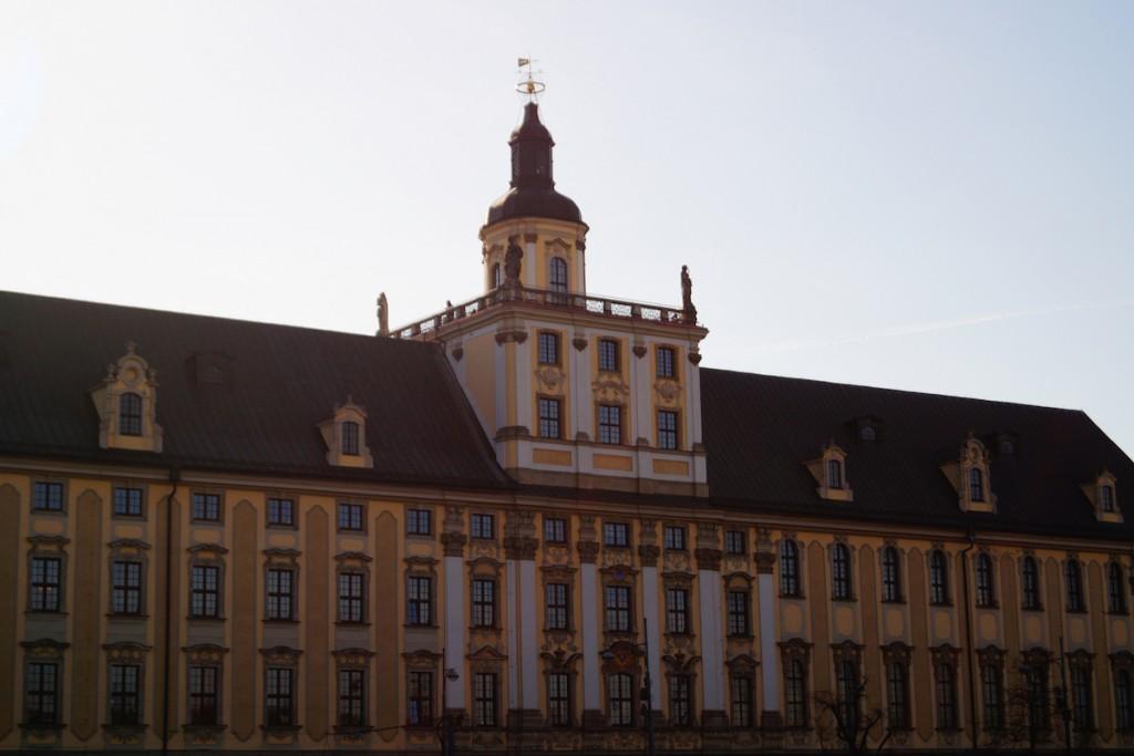 Wieża Matematyczna Gmachu Uniwersytetu Wrocławskiego