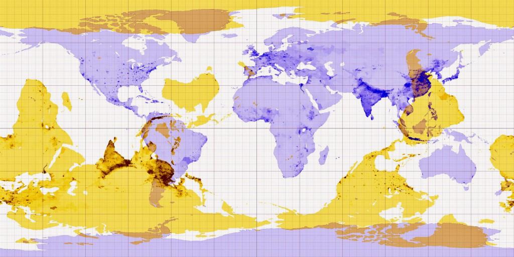 Po drugiej stronie kuli ziemskiej - 10 ciekawych i zaskakujących map