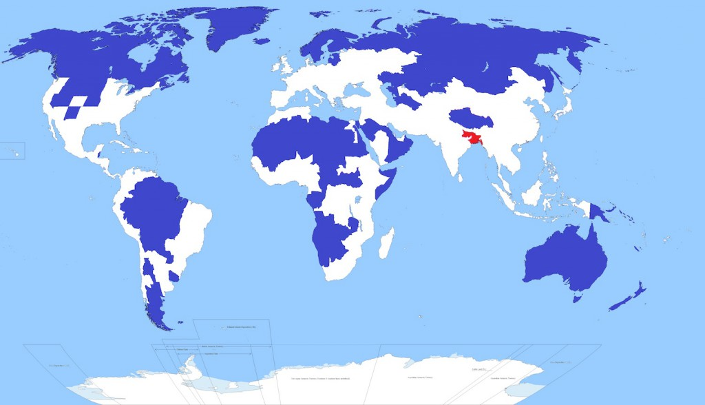 Nierównomierne zaludnienie na Ziemi - 10 ciekawych i zaskakujących map