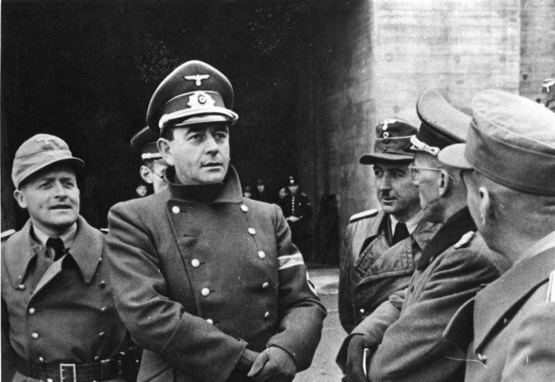 Albert Speer szef Organizacji Todt - Żródło: Bundesarchiv