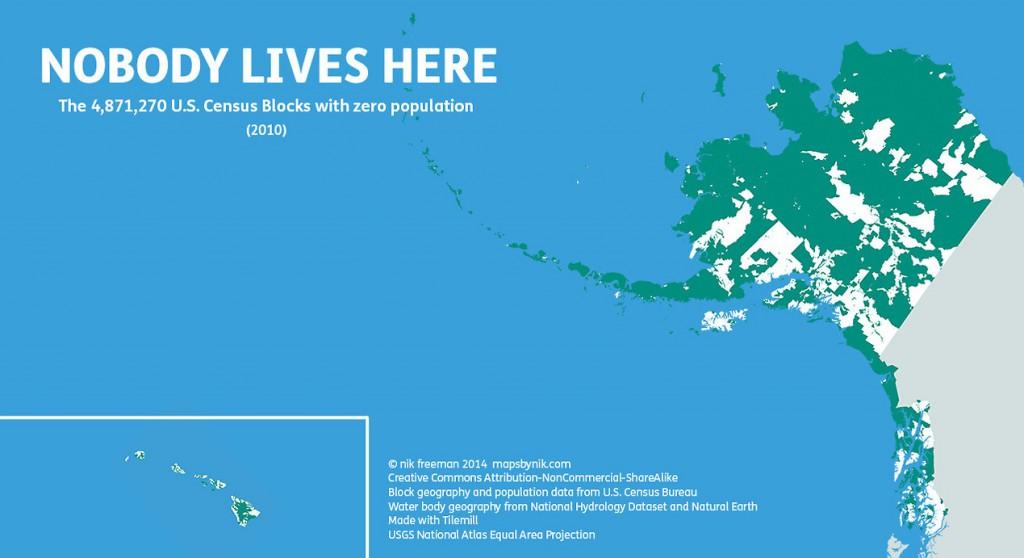 Te same dane dla Alaski i Hawajów - Źródło: mapsbynik.com