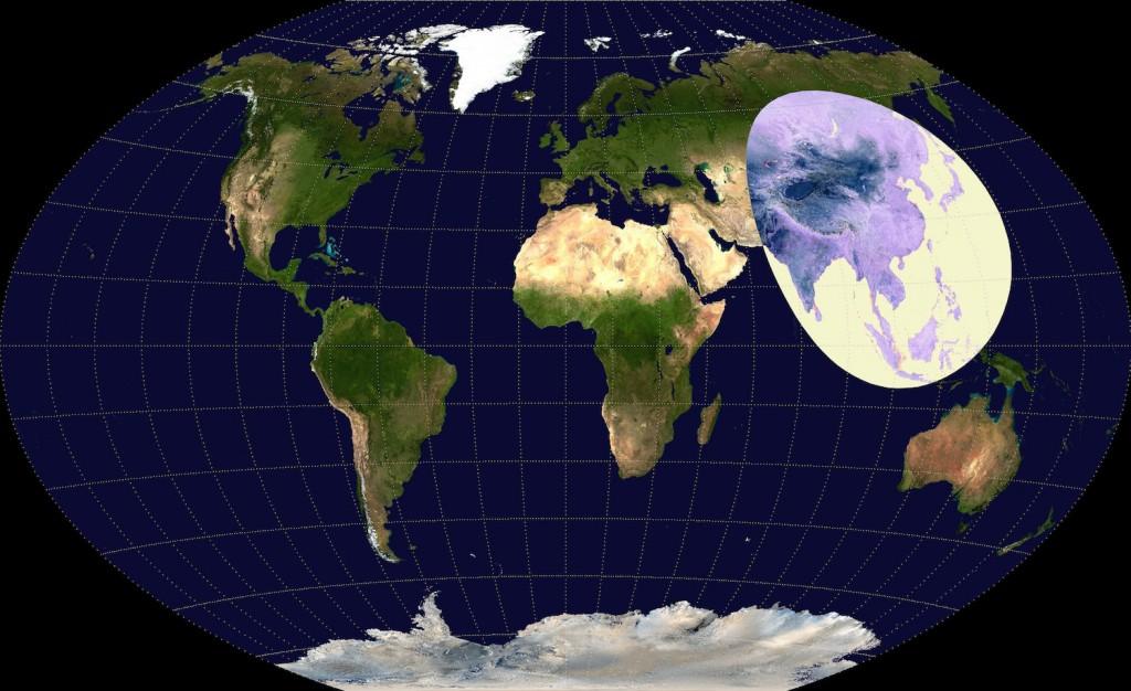 Nierównomierne zaludnienie na Ziemi