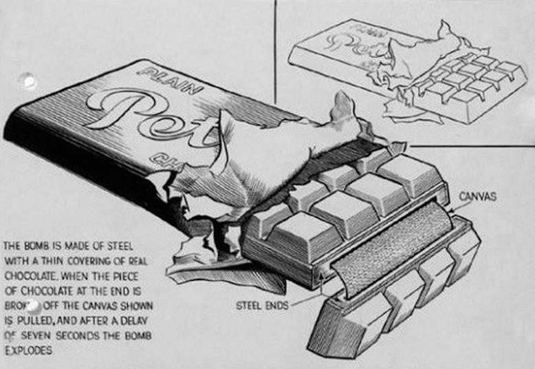 Wybuchowa Czekolada - 10 Ciekawostek z Frontów II Wojny Światowej