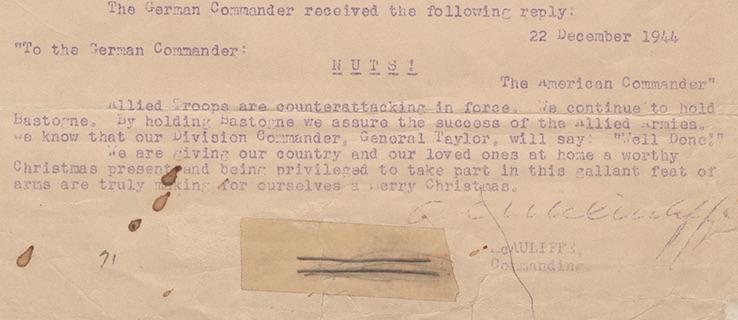 Nuts! - 10 ciekawostek z frontów II wojny światowej