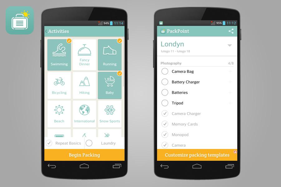PackPoint - 14 aplikacji przydatnych w turystyce za granicą