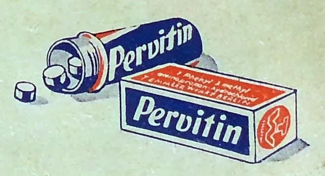 Tabletki Pervitin (Metaamfetamina) dla żołnierzy Wehrmachtu