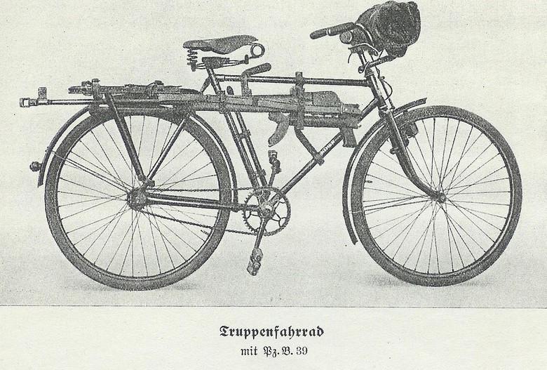 Truppenfahrrad - Rower wojskowy - 10 ciekawostek z frontów II wojny światowej