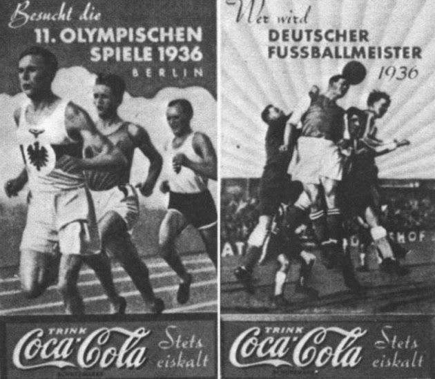 Coca-Cola i XI Letnie Igrzyska Olimpijskie w Berlinie