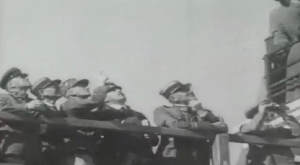 Delegacja francuskich wojskowych na manewrach Armii Czerwonej w 1935 roku