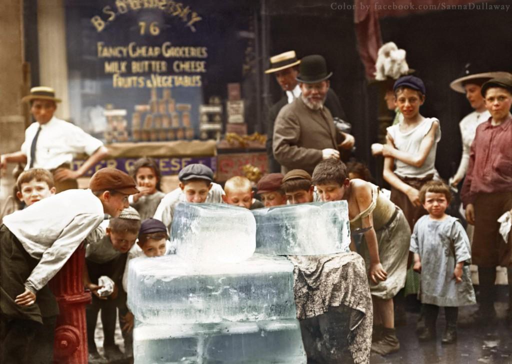 Upały w Nowym Jorku - Świat na 10 kolorowych starych zdjęciach - Autor: Sanna Dullaway