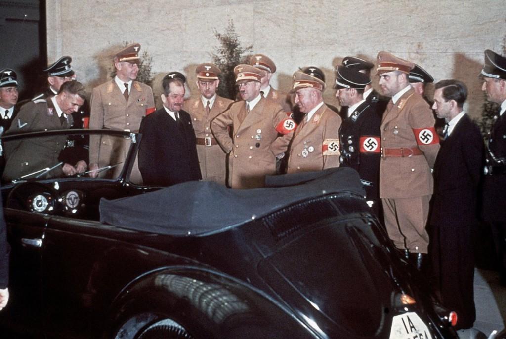 """VW """"Garbus"""" na 50. urodziny Hitlera - III Rzesza w kolorze"""