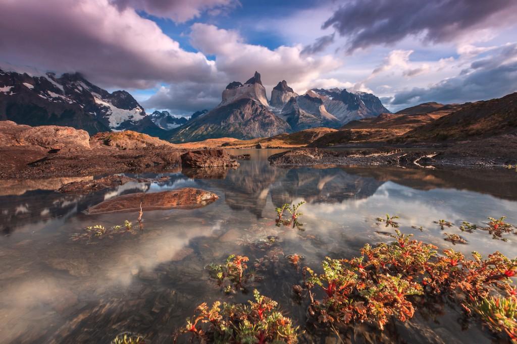 Góry Cuernos del Paine w chilijskiej części Patagonii - Foto: ® Adriano Neves, Portugual, Shortlist, Open Competition, Travel, 2016 Sony World Photography Awards