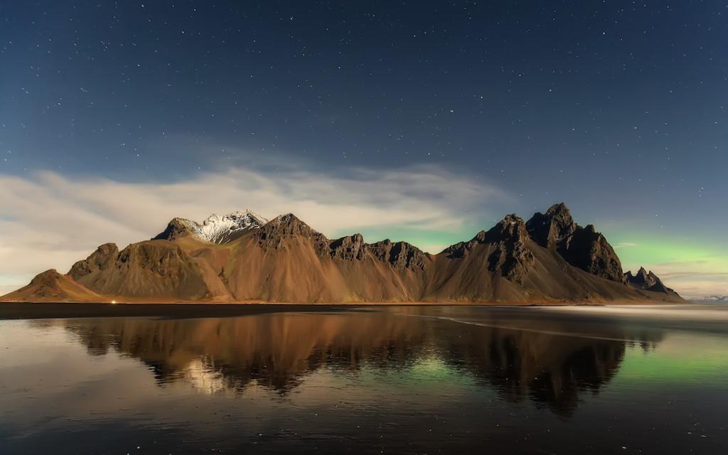 Przylądek Stokksnes w Islandii - Foto: ® Maurizio Casula, Italy, Shortlist, Open Panoramic, 2016 Sony World Photography Awards