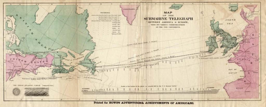 Pierwszy transatlantycki kabel telekomunikacyjny