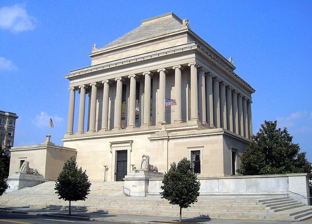 Budynek House of the Temple w Waszyngtonie wzorowany na mauzoleum w Halikarnasie - Foto: AgnosticPreachersKid at English Wikipedia