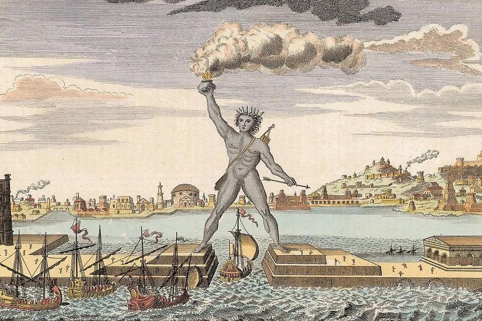 Kolos z Rodos - 7 Cudów Starożytnego Świata