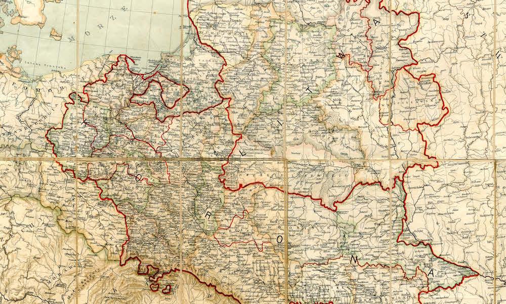 Szczegolowa Mapa Polski Z 1771 Roku Eloblog