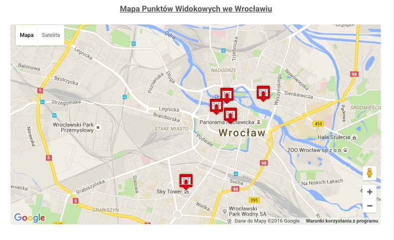 Gotowa mapa na stronie - WP Google Maps - Najlepsze Wtyczki do WordPressa