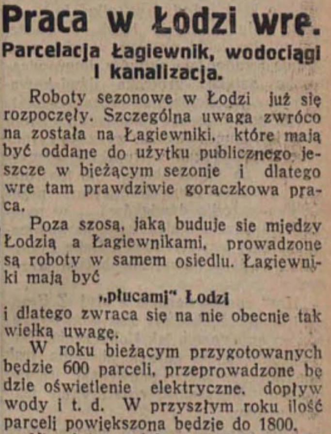 """Fragment artykułu z """"Ilustrowanej Republiki"""" 26.04.1934 r. nr 113 - Źródło: Olaf Wójtowicz"""