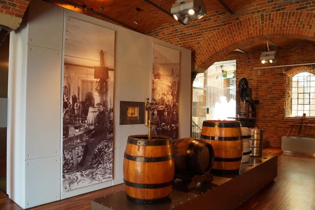 Ekspozycja w Tyskiem Browarium