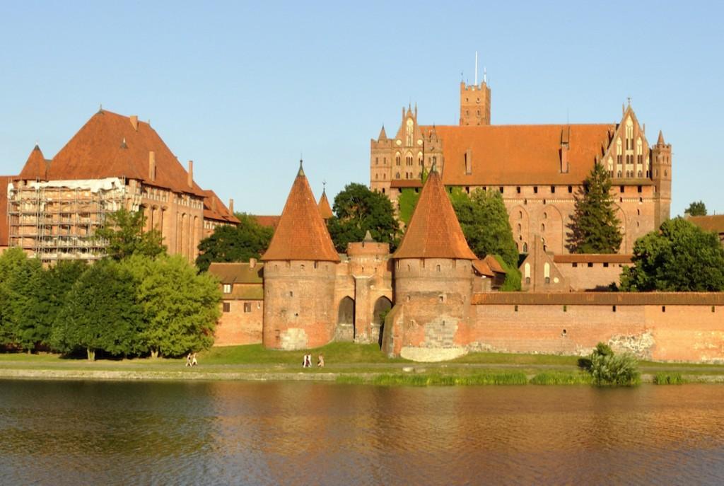Pkt. 4 - Zamek w Malborku - Foto: DerHexer Źródło: commons.wikimedia.org