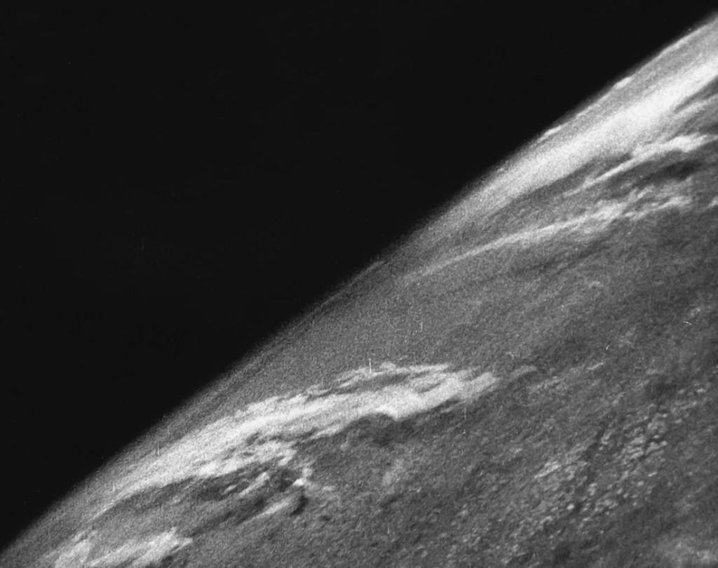 Pierwsze zdjęcie z kosmosu - 24 października 1946 roku - Foto: U.S. Army