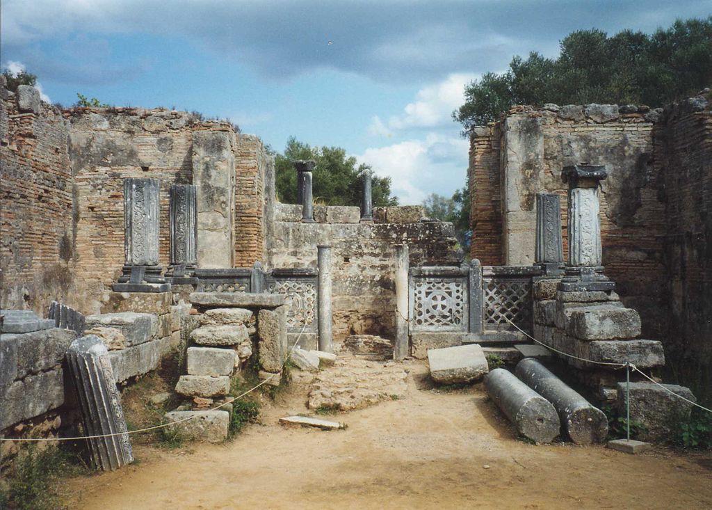 Przypuszczalne miejsce lokalizacji posągu - Foto: Alun Salt Źródło: flickr.com