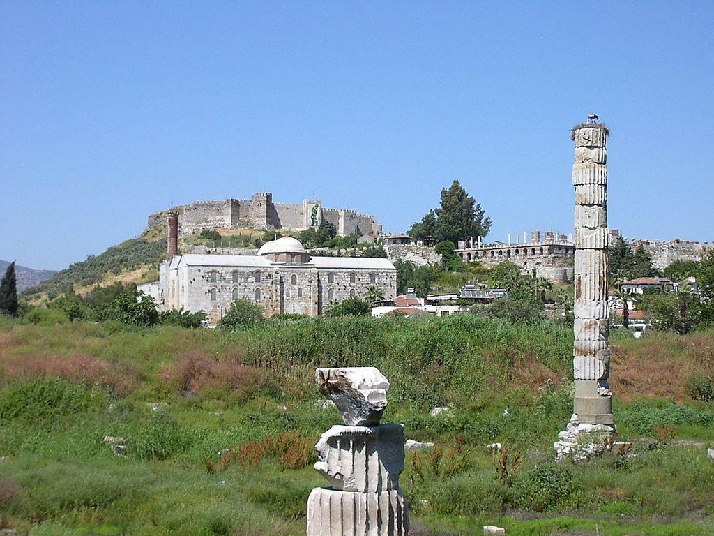 Miejsce ruin obok miasta Selçuk w Turcji - Foto: Adam Carr at the English language Wikipedia