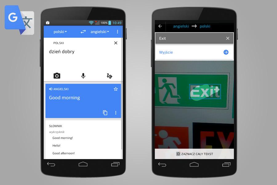 Tłumacz Google - 14 aplikacji przydatnych w turystyce za granicą