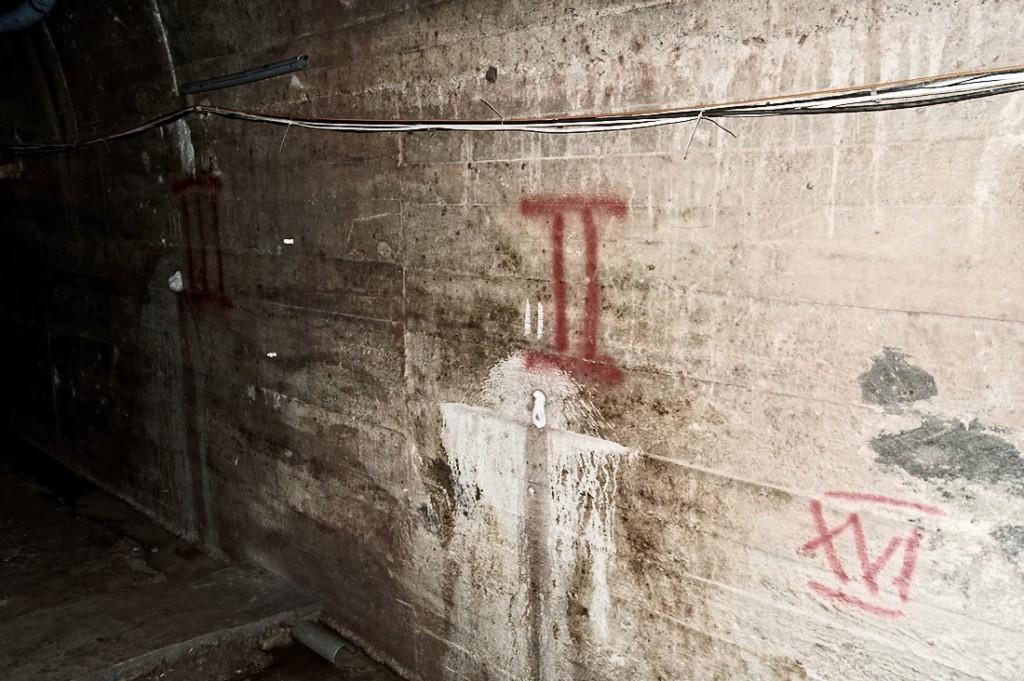 Obudowa komory, za którą Weiss i Sitkowski zeznali istnienie dalszej części podziemi